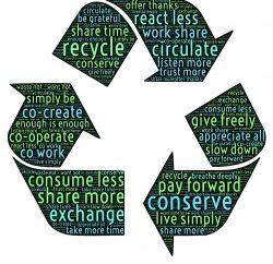 Champ lexical du recyclage dans un symbole